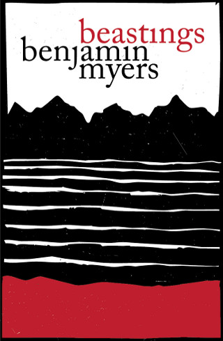 The cover of 'Beastings' by Benjamin Myers'.
