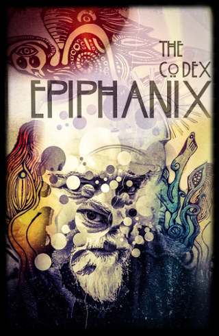 The cover of 'The Codex Epiphanix' by David E Oprava.