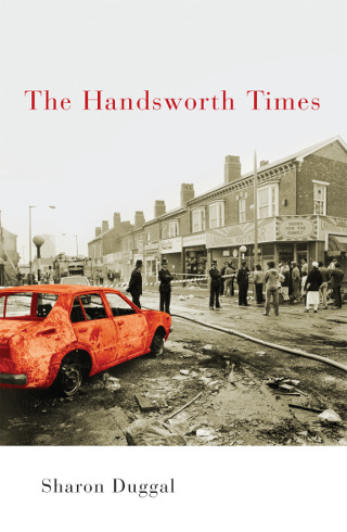 The cover of 'The Handworth Times' by Sharon Duggal.