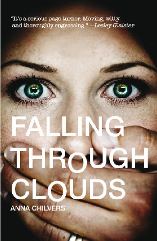 The cover of 'Falling Through Clouds' by Anna Chilvers.