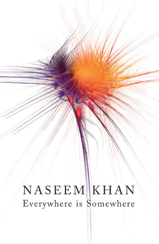 The cover of 'Everywhere is Somewhere' by Naseem Khan.
