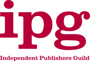 The logo of the Independent Publishers Guild. Bluemoose Books is a member of the guild.